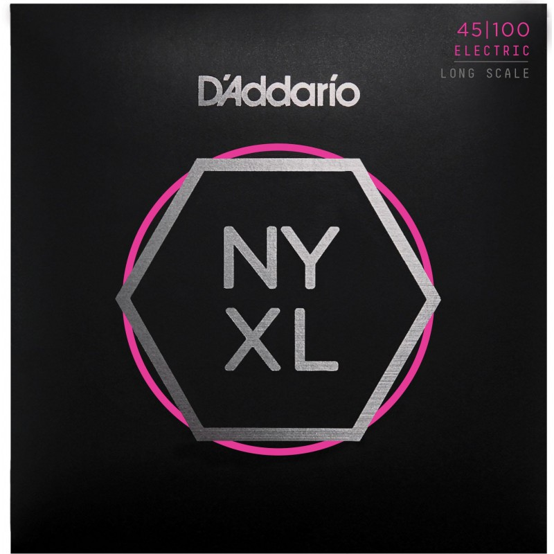 Cuerdas Bajo D'Addario NYXL 45-100