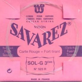 Cuerda Suelta Clásica Savarez 523R G 3ª