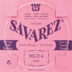 Cuerda Suelta Clásica Savarez 524R D 4ª