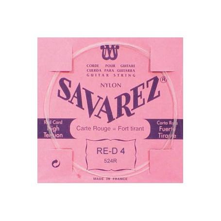 Cuerda Suelta Clásica Savarez 524R D 4ª-D-4a