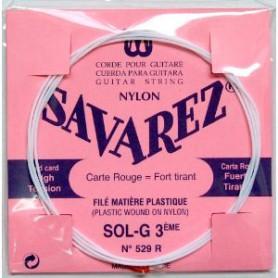 Corda Solta Clàssica Savarez 529R G 3ª Entorxada