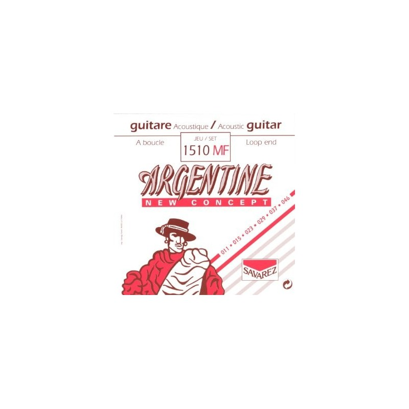 Argentine 1510 10-45 Loop End Gypsy Jazz Acoustic Guitar Strings