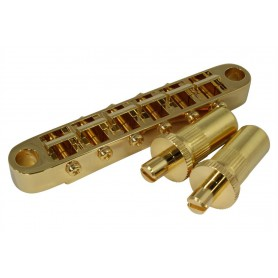 Puente Gotoh GE103B-T tipo Tune-o-Matic Gold M8