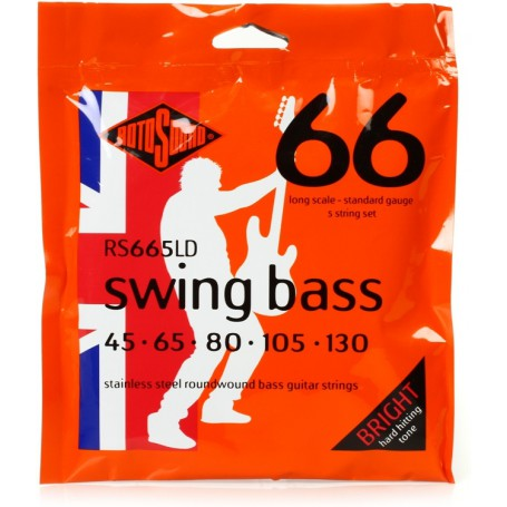 Cuerdas Bajo Rotosound Swing Bass RS665LD 45-130