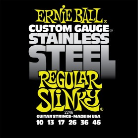 Cordes Elèctrica Ernie Ball 2246 Stainless Regular 10-46