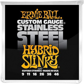 Cordes Elèctrica Ernie Ball 2248 Stainless 09-42