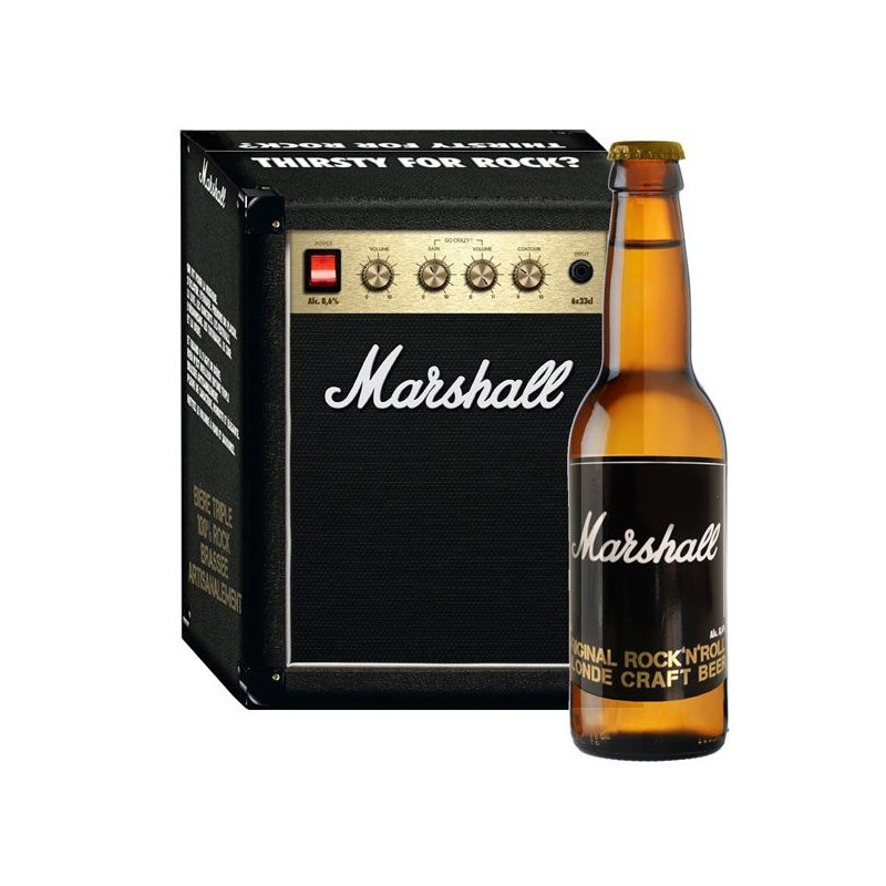 Cerveza Marshall 6 Pack