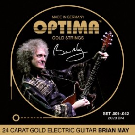Cuerdas Eléctrica Optima Gold Strings 09-42