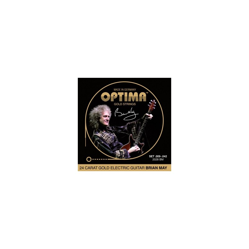 Cuerdas Eléctrica Optima Gold Strings 09-42