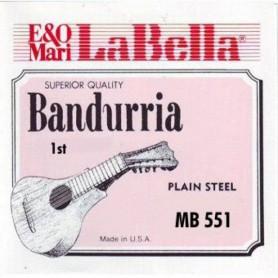 La Bella MB-551 1st Bandurria Single String