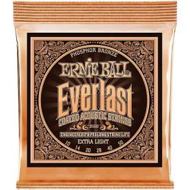 Cordes Acústica Ernie Ball 2550 Everlast Phosphor 10-50