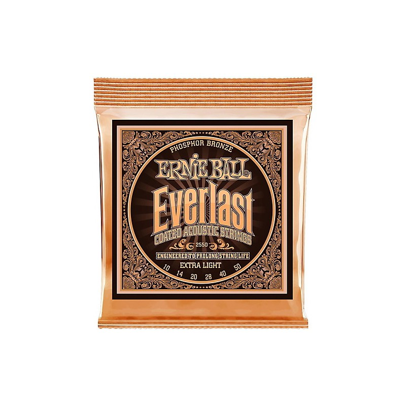 Cuerdas Acústica Ernie Ball 2546 Everlast 12-54