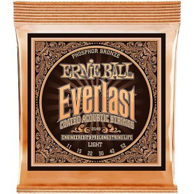 Cordes Acústica Ernie Ball 2548 Everlast Phosphor 11-52
