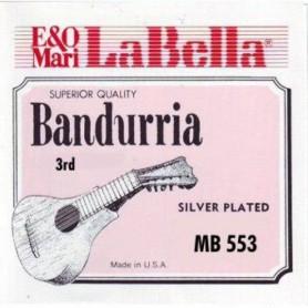 Corda Solta Bandúrria La Bella 3ª MB-553
