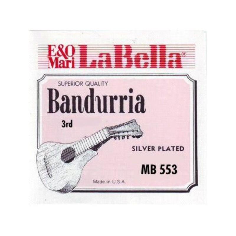 Cuerda Suelta Bandurria La Bella 3ª MB-553