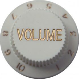 White Volume Knob for Strat