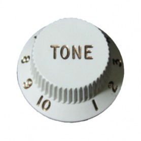 White Tone Knob for Strat