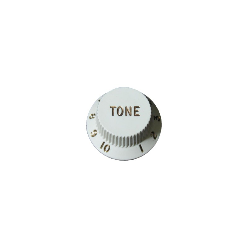Botón de Potenciómetro de Tono White Strat