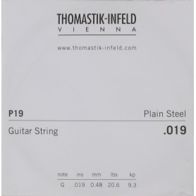 Thomastik Infeld Plain Brass Plated Single String 019