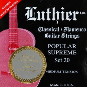 Cordes Clàssica Luthier Set 30 Silver Concert Super Carbon