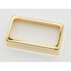 Cubierta de Pastilla Humbucker Abierta Gold 50mm.
