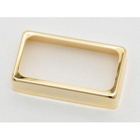 Open Gold Cover for Humbucker Pickup