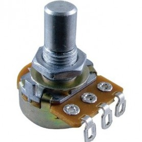 Alpha 25K Audio Short Shaft Guitar Potentiometer