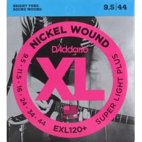 Cuerdas Eléctrica D´Addario EXL120 09-42