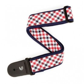 Correa Planet Waves Gingham Red and Navy T20S1500