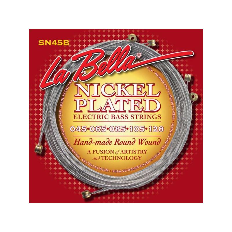 Cuerdas Bajo La Bella SN45B Nickel Plated 45-128 5 Strings