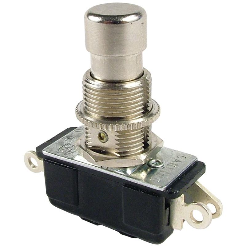 Interruptor Footswitch 3PDT