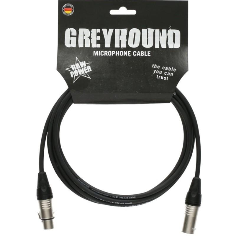 Cable Micrófono Klotz Greyhound GRKFM0100 1m.