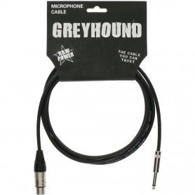 Cable Micrófono Klotz Greyhound GRKFM0300 3m.