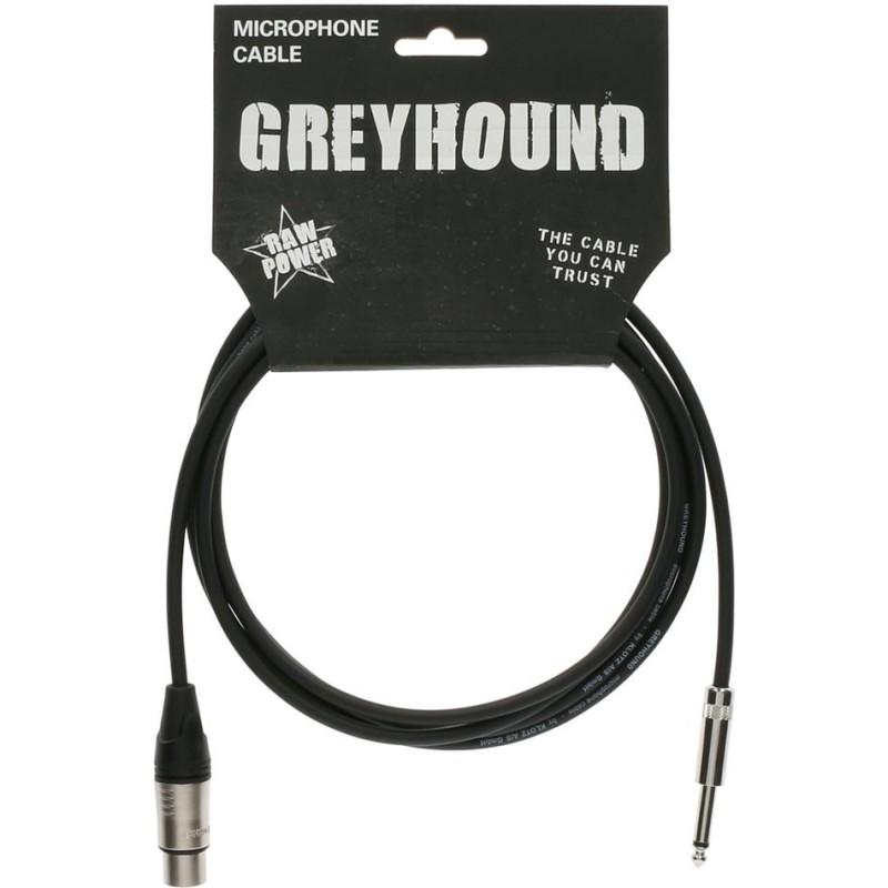 Cable Micrófono Klotz Greyhound GRKFM0300 3m.