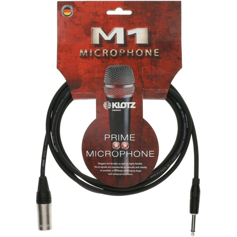 Cable Micrófono Klotz M1MP1K0300 3m.