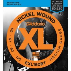 Cuerdas Bajo D'Addario EXL160BT 50-120