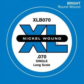 Corda solta Baix D'Addario Nickel XLB050