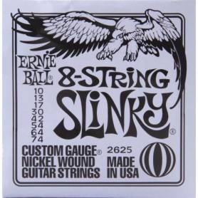 Cordes Elèctrica Ernie Ball 2624 Skinny Top 09-80 8 Strings