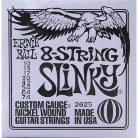 Cuerdas Eléctrica Ernie Ball 2624 Skinny Top 09-80 8 Strings