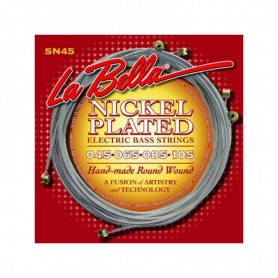 La Bella SN45B Nickel Plated 45-128 5 Strings