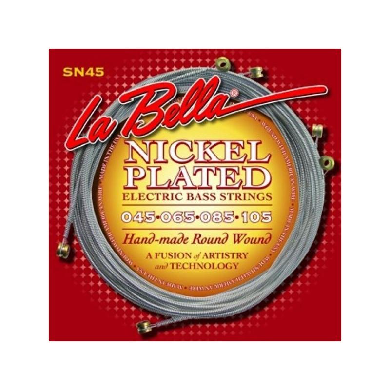 Cuerdas Bajo La Bella SN45 Nickel Plated 45-105