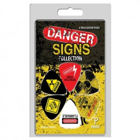 Puas Perri's Danger Signs - 6 Pack