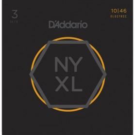 Cordes Elèctrica D'Addario NYXL 10-46 Regular Light