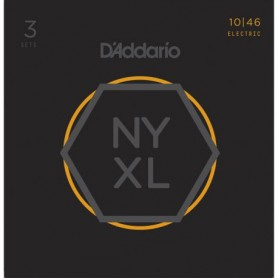 D'Addario NYXL 10-46 Electric Strings
