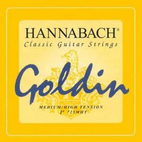 Cuerdas Clásica Hannabach Goldin Super Carbon 725MHT