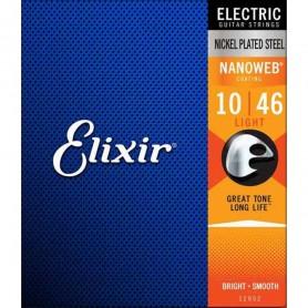 Cordes Elèctrica Elixir Nanoweb Light 10-46