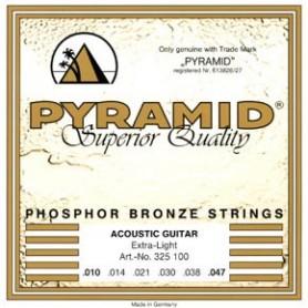 Cordes d'Acústica Pyramid Premium Phosphor Bronze Extra Light 10-47