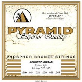 Pyramid Western Folk Premium Phosphor Bronze Guitar Strings Extra Light 10-47