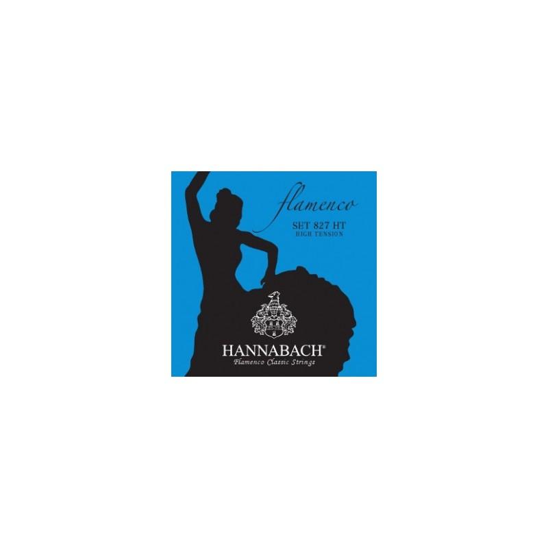 Cuerdas Hannabach 827HT Flamenco Blue