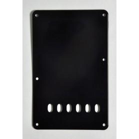 Black Strat Backplate Tremolo Cover